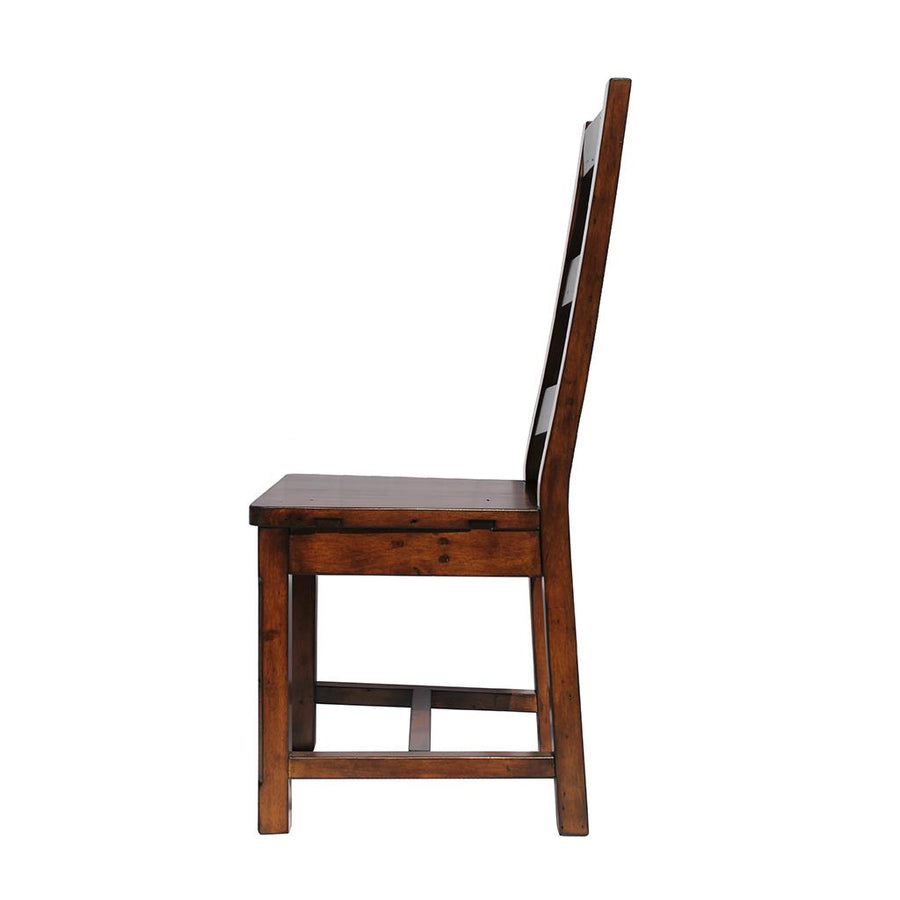 Irish Coast Ladder Back Chair, African Dusk