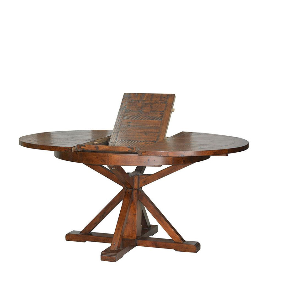 Irish Coast Round Extension Table, African Dusk