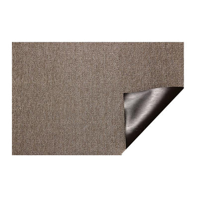 Chilewich Indoor/Outdoor Tufted Shag Mat Heathered Pebble