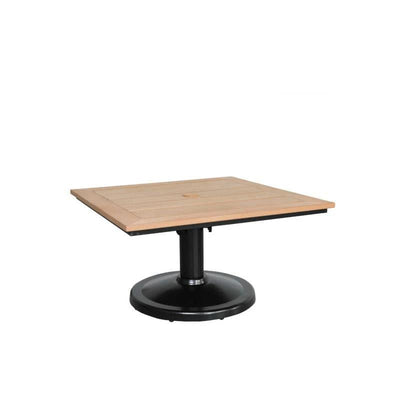 Skye Outdoor Square Pedestal Coffee Table