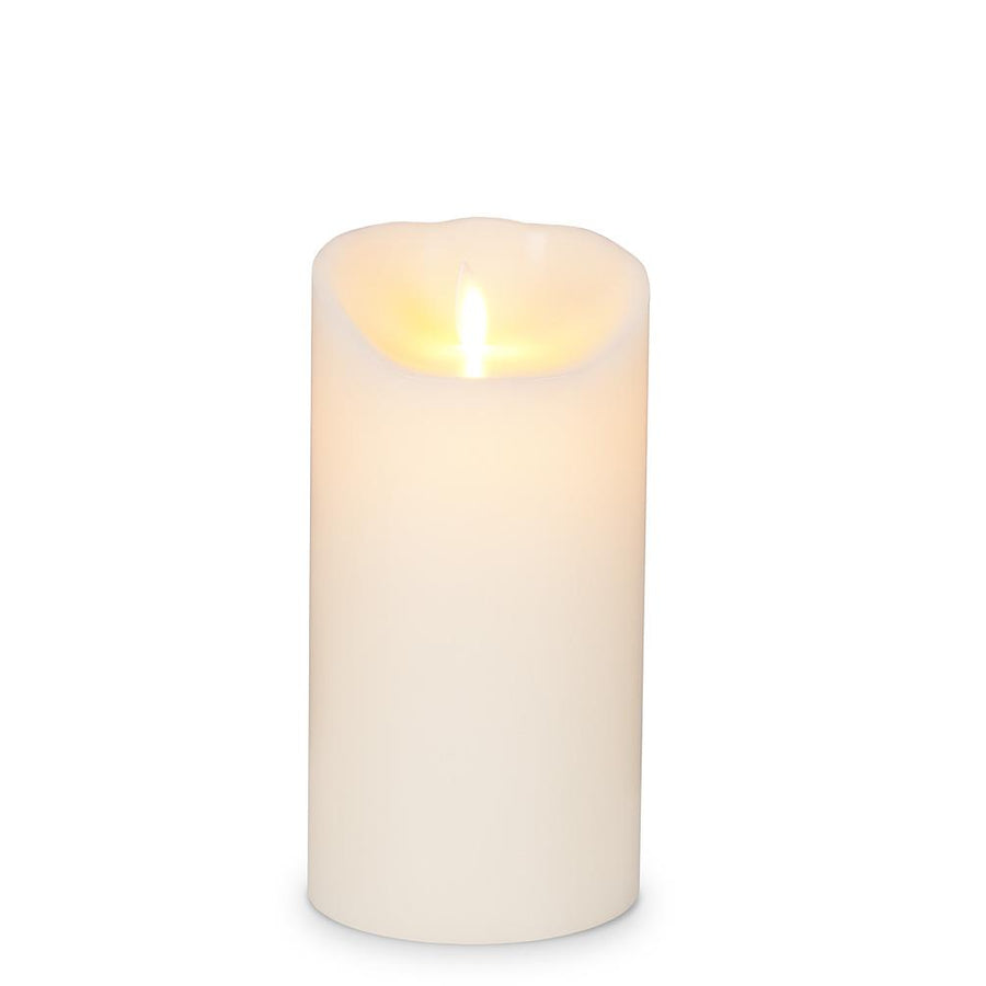 Reallite 3x7 Ivory Flameless Candle