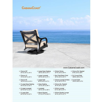 Chorus Deep Seating Chair Cover