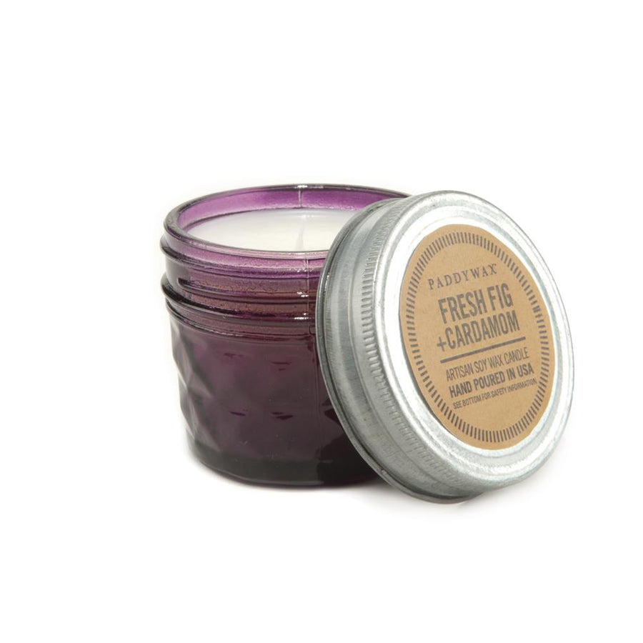 Paddywax Relish Mini Mason Jar Candle, Fig