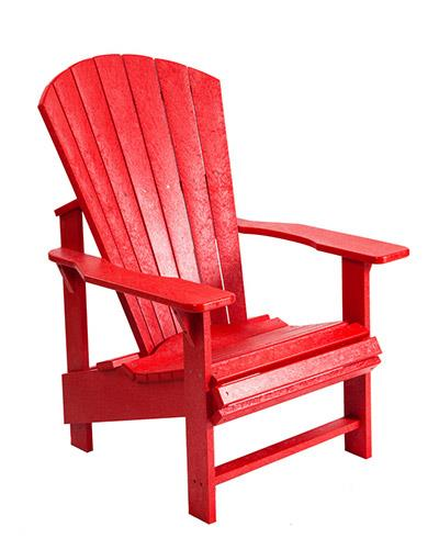 C.R. Plastics Upright Muskoka Chair