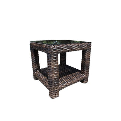 "Louvre 24"" Square Outdoor Side Table"