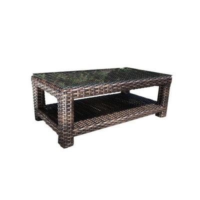 "Louvre 48"" x 26"" Outdoor Coffee Table"