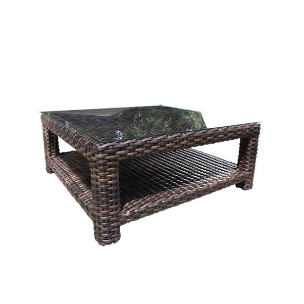 "Louvre 42"" Square Coffee Table"