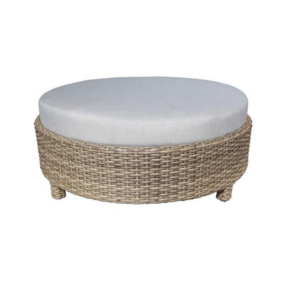 "Riverside 48"" Outdoor Round Ottoman"