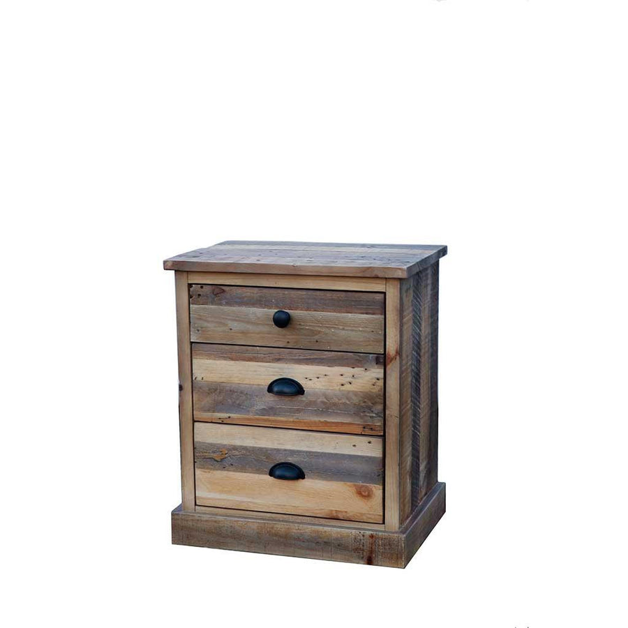 Campestre Country 3 Drawer Nightstand