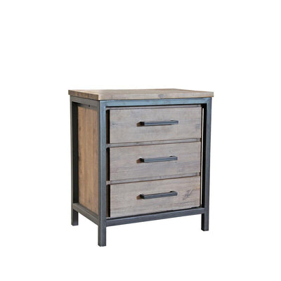 Moss Reclaimed Irondale Nightstand
