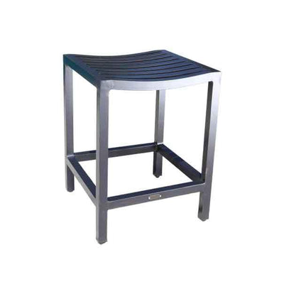 Mission Outdoor Backless Counter Stool