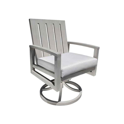Venice Dining Swivel Rocker Dark Rum