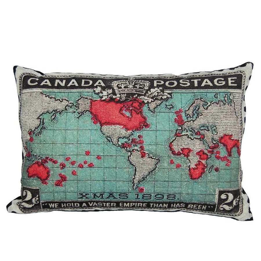 Canada Stamp Pillow