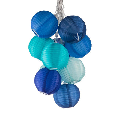Allsop Home & Garden Soji Blue Solar String Lights