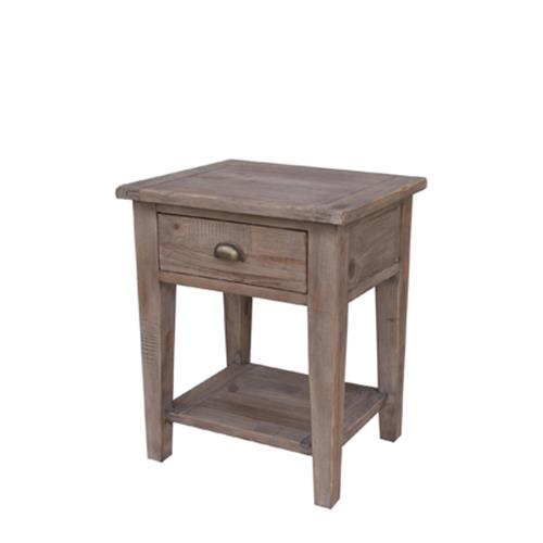 Irish Coast Small End Table, Sundried