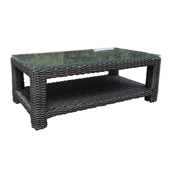 "Aubrey 48"" x 26"" Outdoor Coffee Table"