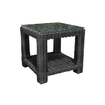 "Aubrey 24"" Outdoor Square Side Table"