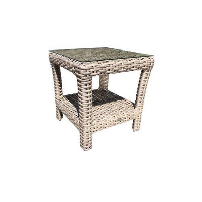 "Pacific 21"" Outdoor Square Side Table"