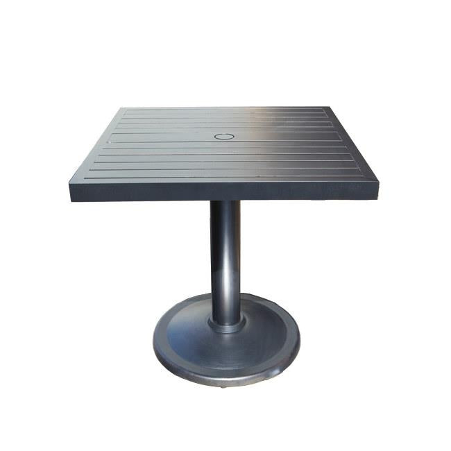Monaco Square Pedestal Counter Table