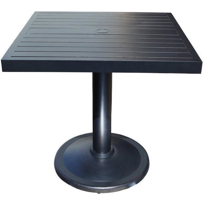 Monaco Square Pedestal Table
