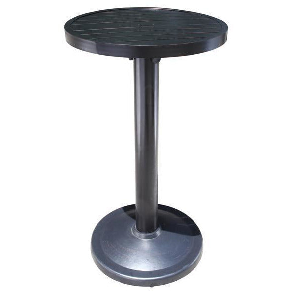 Monaco Round Pedestal Bar Table