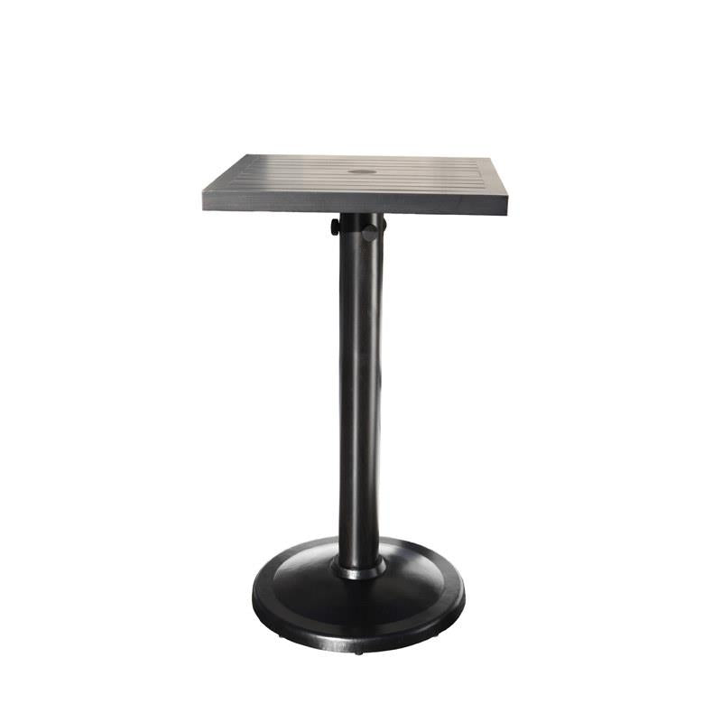 Monaco Square Pedestal Bar Table