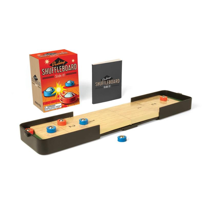 Desktop Shuffleboard Mini Kit