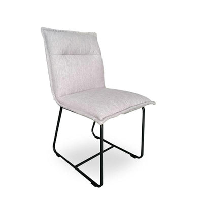 Alba Dining Chair, Twill Grey