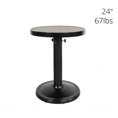 "Kensington 42"" Outdoor Round Pedestal Dining Table"