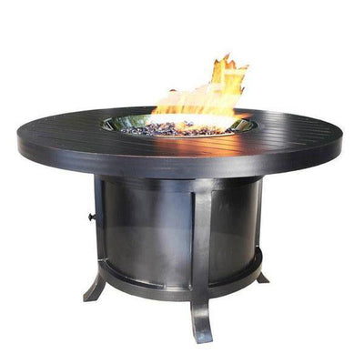 "Monaco 50"" Round Chat Outdoor Firepit"