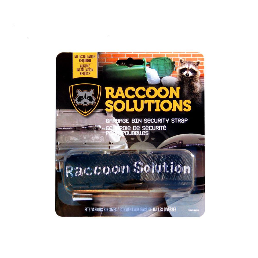 Raccoon Solutions Security Strap for Garbage Bins
