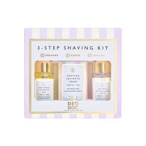 3 Step Shaving Kit