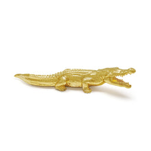 Load image into Gallery viewer, Avery Crocodile (All Gold)