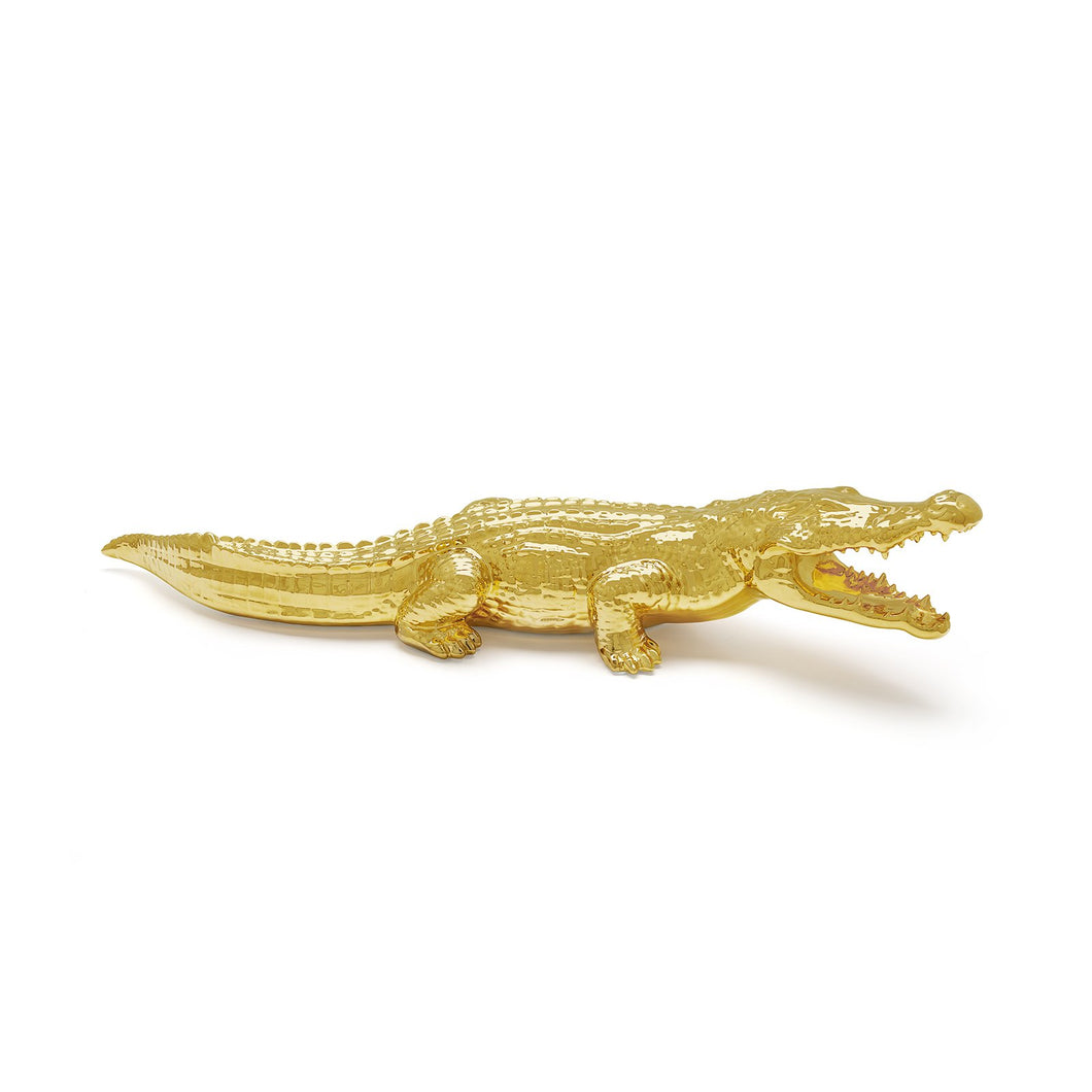 Avery Crocodile (All Gold)
