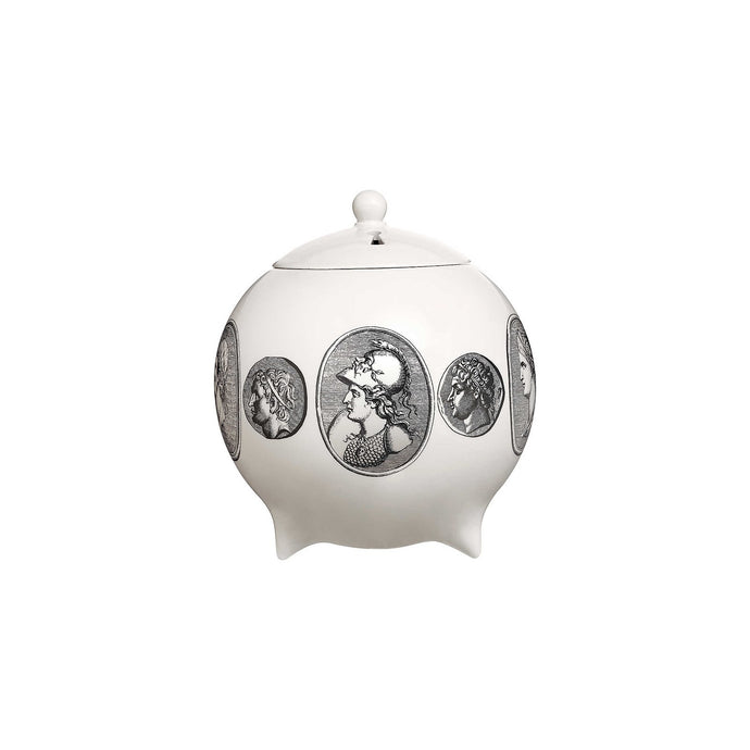 Fornasetti Cammei Bianco, Scent Sphere with lid