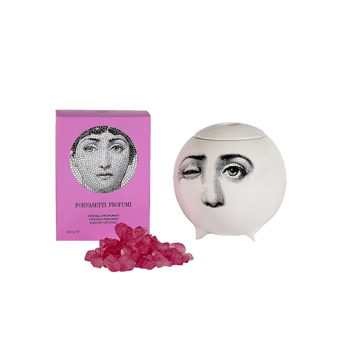 Fornasetti Flora Scent Sphere with Flora Crystals