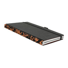Carica l'immagine nel visualizzatore di Gallery, Thinkback Small Notebook, fabric black, plain