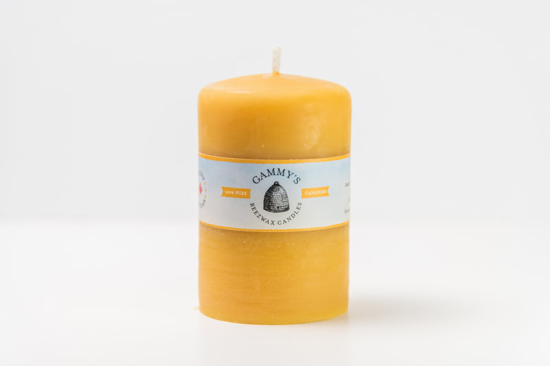 Gammy's 3x5 Beeswax Candle