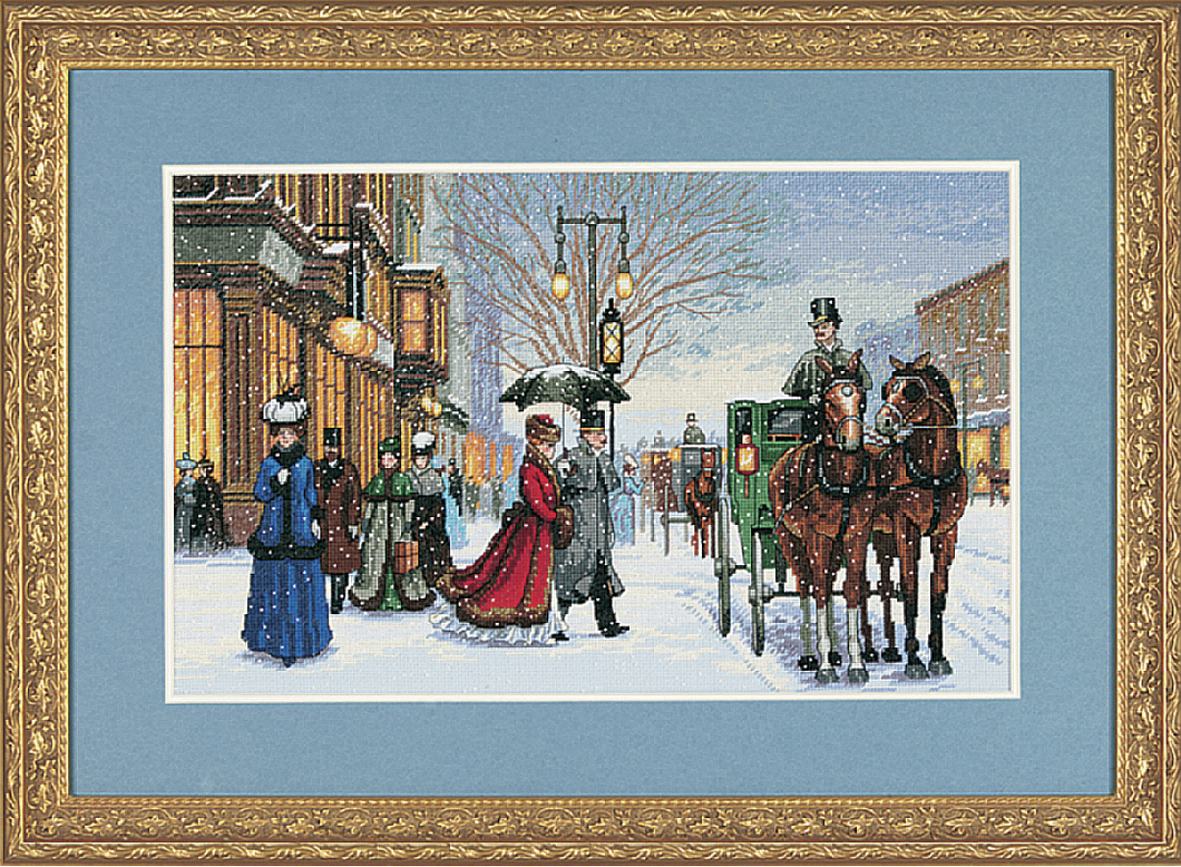 Alan Maleys Gracious Era - Dimensions Gold Counted Cross Stitch  D03821