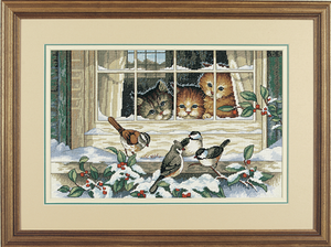 Three Bird Watchers - Dimensions Counted Cross Stitch  D03839