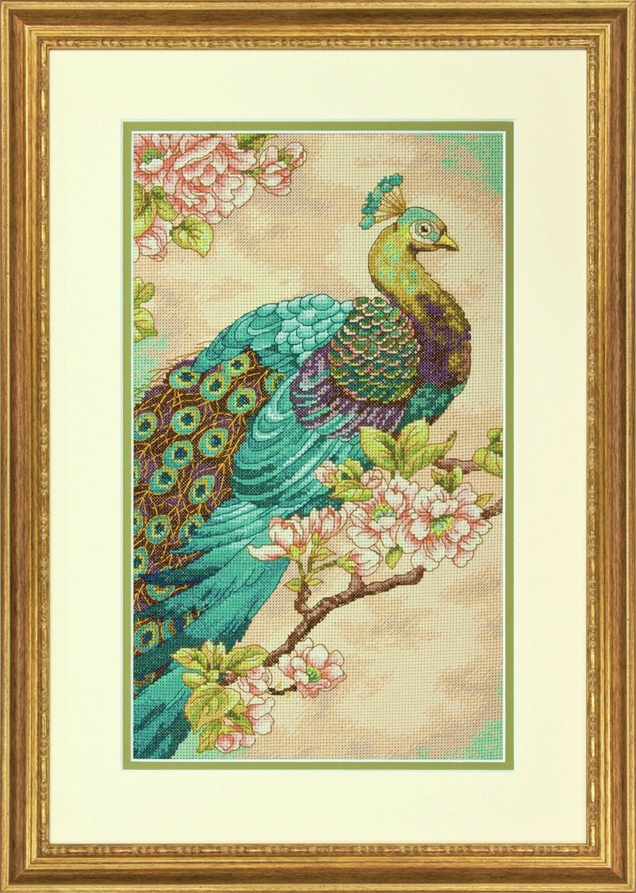 Indian Peacock - Dimensions Gold Counted Cross Stitch  D70-35293