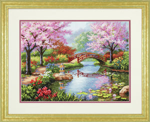 Japanese Garden - Dimensions Counted Cross Stitch  D70-35313