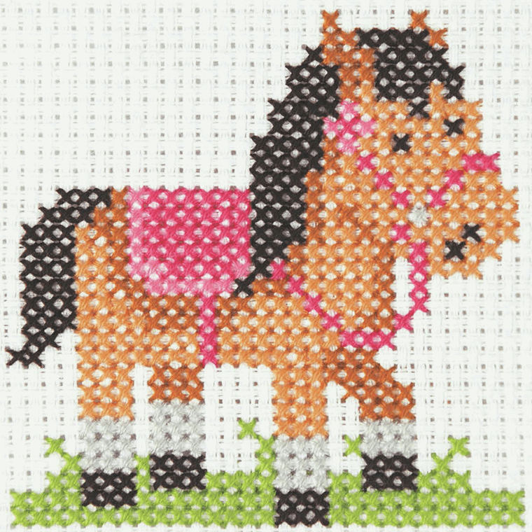 Pony - Anchor 1st Counted Cross Stitch Kit 3690000\10021