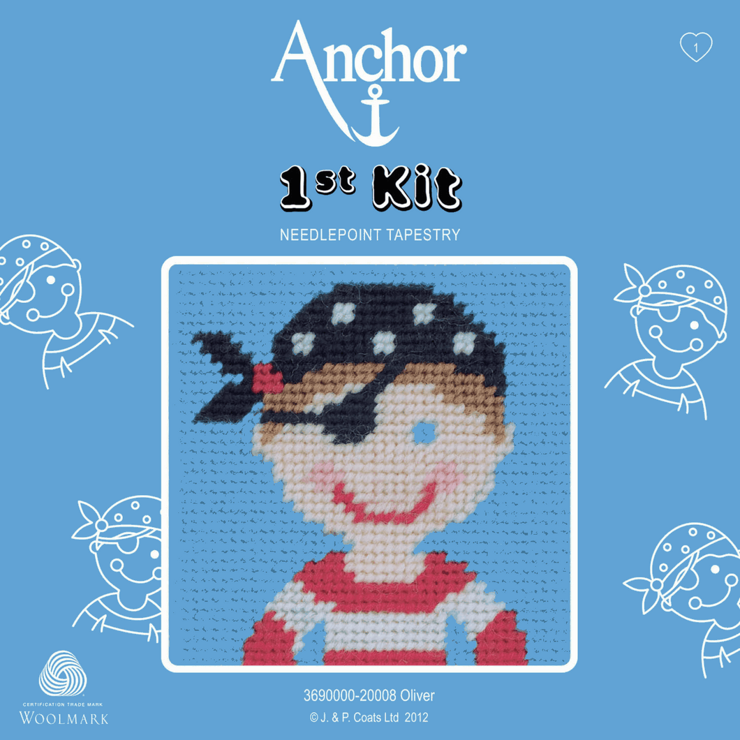 Oliver   -  Anchor 1st Tapestry Kit 3690000\20008