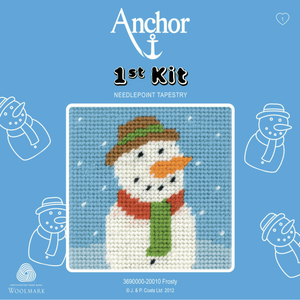 Frosty- Snowman  -  Anchor 1st Tapestry Kit 3690000\20010