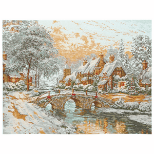 Cobblestone Christmas - Anchor Maia Cross Stitch Kit 5678000\1062