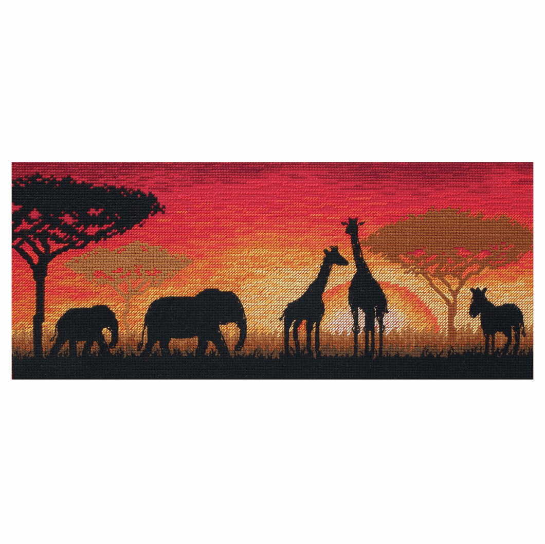 African Horizon - Anchor Maia Cross Stitch Kit 5678000\1187