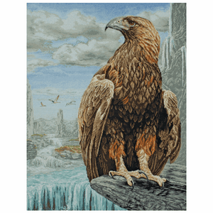 3D Eagle - Anchor Maia Cross Stitch Kit 5678000\1229