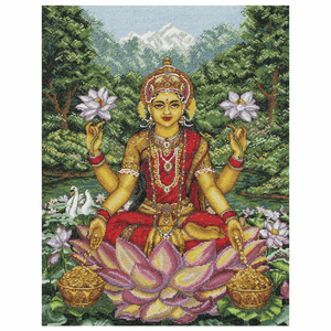 Goddess Lakshmi - Anchor Maia Cross Stitch Kit 5678000\1233