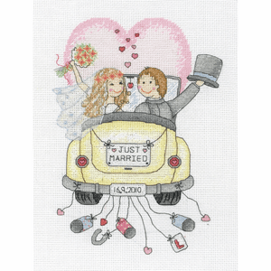 Just Married: Wedding - Anchor Cross Stitch Kit ACS15
